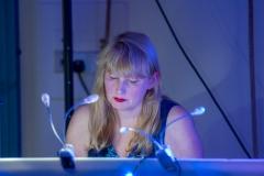 Helen on Keyboard